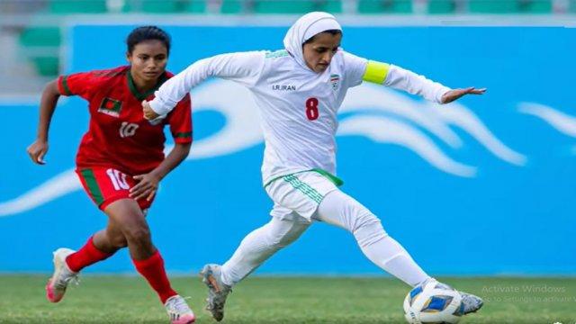 ইরানের কাছেও ৫-০ গোলে হারল বাংলাদেশ নারী ফুটবল দল