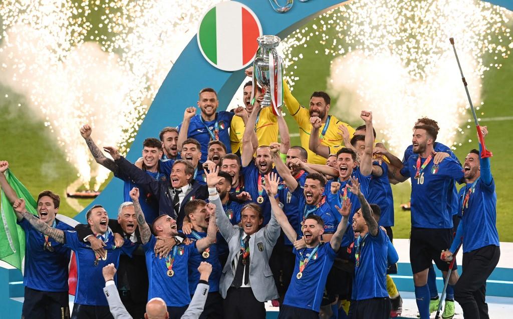২০১৮ বিশ্বকাপে অংশগ্রহন করতে ব্যর্থ হওয়া ইতালি চ্যাম্পিয়ন