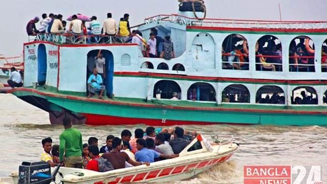 বাংলাবাজার-শিমুলিয়ায় নৌযান চলাচল স্বাভাবিক