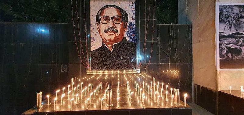 ব্লাক আউটসহ নানা আয়োজনে জাতীয় গণহত্যা দিবস পালিত