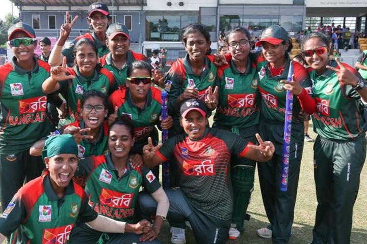 টেস্ট স্ট্যাটাস পেয়েছে বাংলাদেশ নারী ক্রিকেট